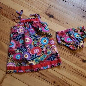 Hanna Andersson dress size 80 (12-18m)